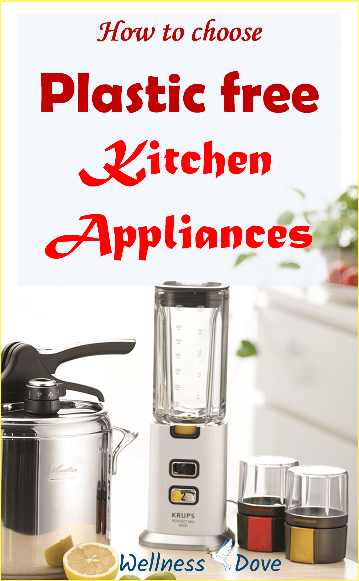 Our Guide For Plastic Free Cooking Appliances Wellnessdove