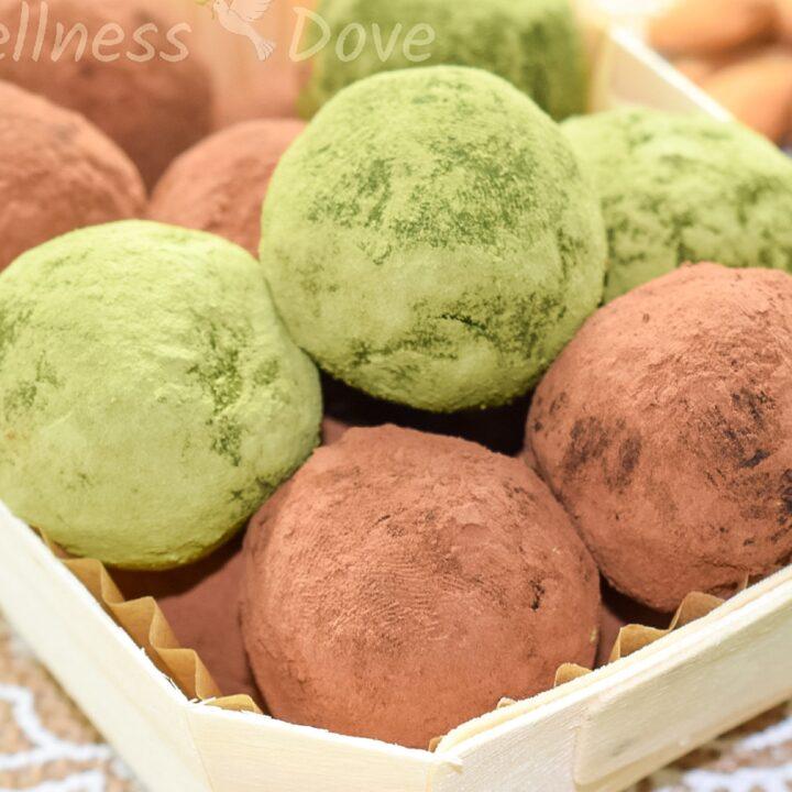 Sugar-free Vegan Avocado Truffles