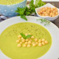 Quick & Satiating Green Peas Soup