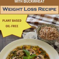 Ginger Turmeric Nettle Stew with Buckwheat