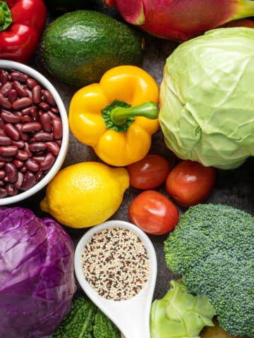 Abundance of whole plant foods