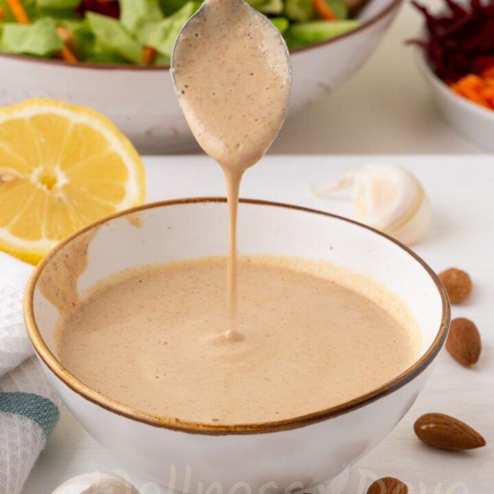 Oil-free Vegan Salad Dressing