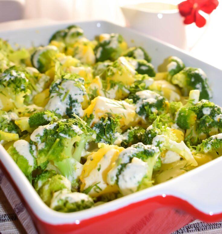 Easy & Tasty Broccoli-rich Casserole   Whole Food Vegan