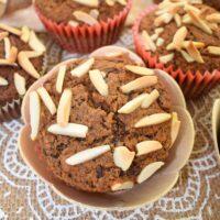 Super Healthy Vegan Chocolate Chickpea Muffins