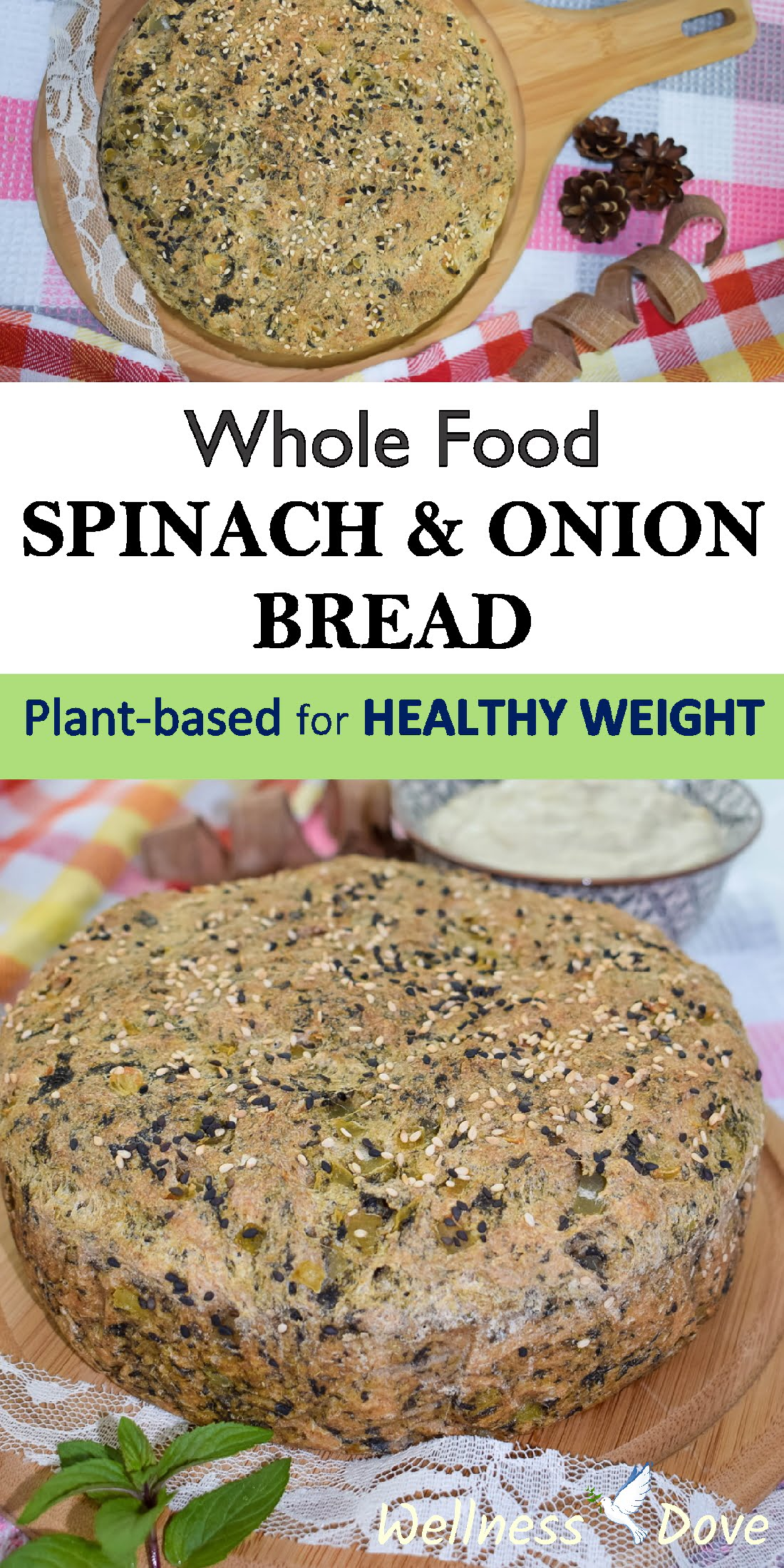 A delicious whole food, oil-free, vegan bread recipe. Really fresh and juicy bread that smells really appetizing. Easy to prepare as well.