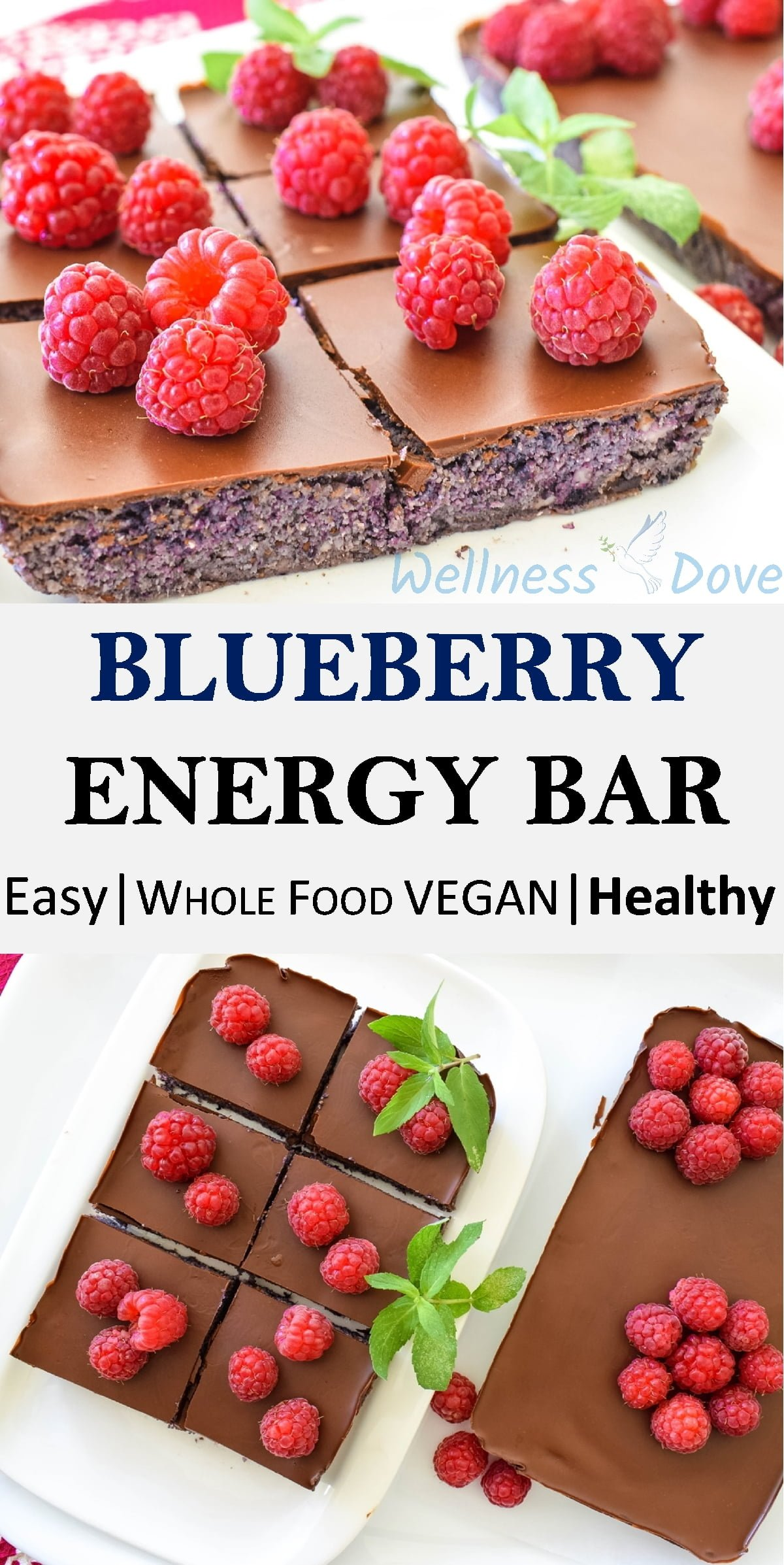 Fresh and raw vegan dessert that is super healthy! A homemade recipe, full of flavor, without any processed ingredients! A great snack for any time of the day!
