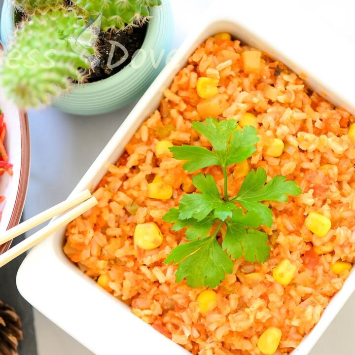 Easy Brown Rice With Veggies