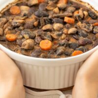 Baked Beans with Mushrooms
