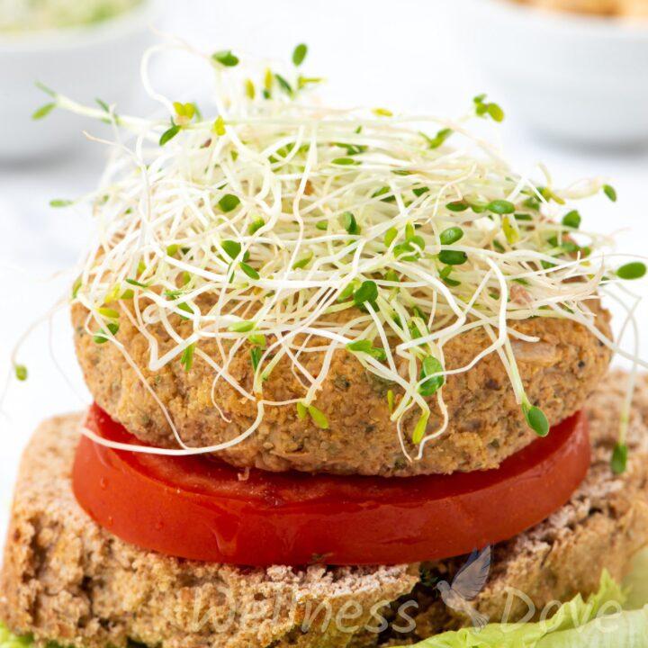 Cauliflower Burger Patties | Vegan