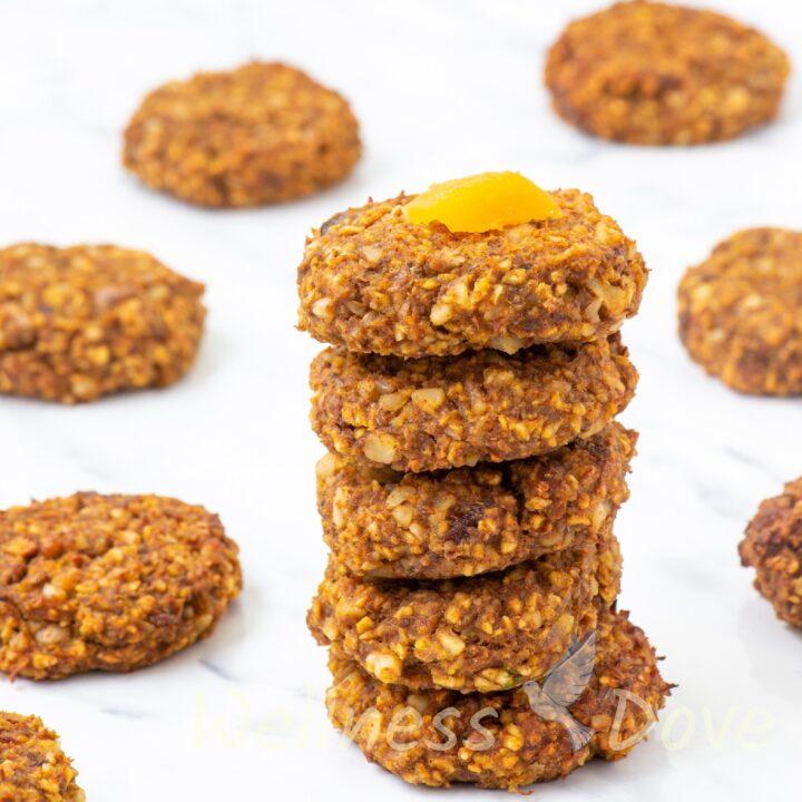 Easy Oat Pumpkin Cookies | Vegan