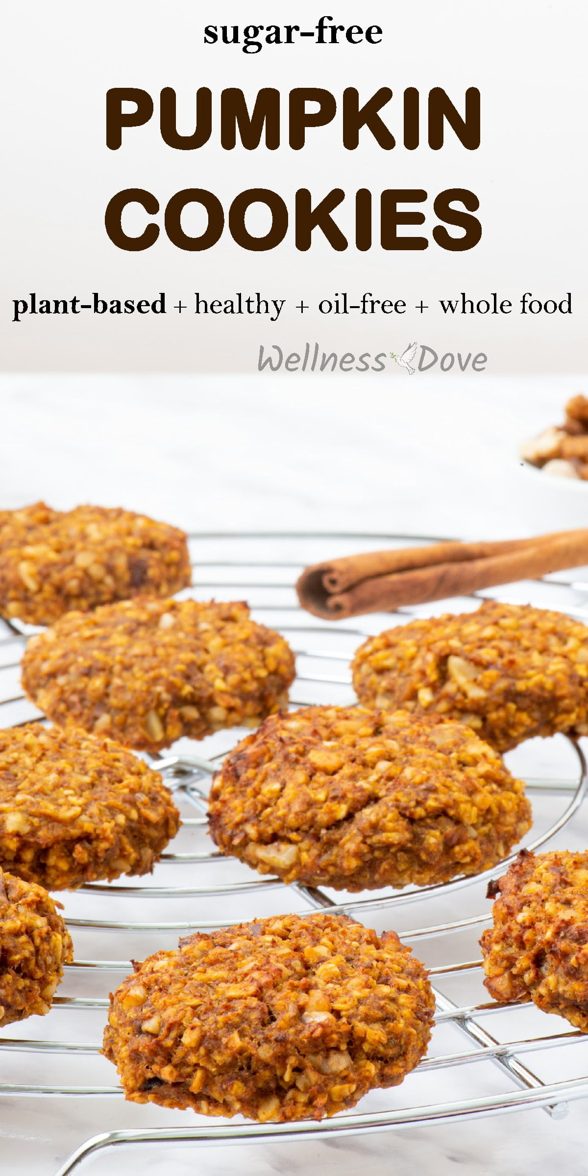 A delicious snack made with whole natural plant foods. Without any sugar or oil, this whole food, plant based cookies are a delightful way to boost your energy or enjoy a guilt-free moment of bliss! Truly nourishing, they will help you stay healthy and lose the extra weight!
