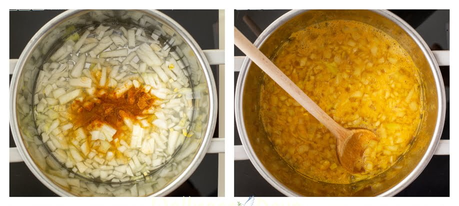soup making step 1