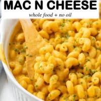 vegan mac and cheese pinterest iamge