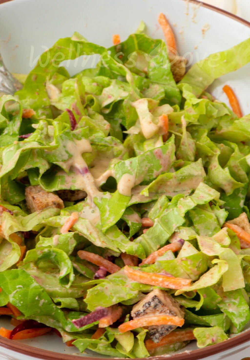 vegan no oil salad dresssing