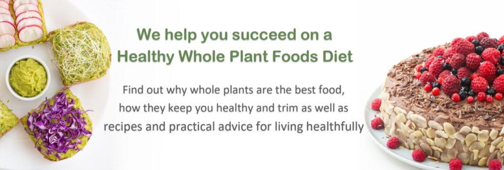 Healthy Whole Food Vegan Recipes Header