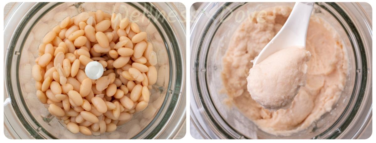 making of bean mash