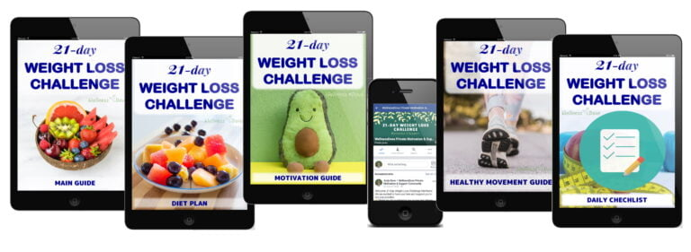 The 21 Day Weight Loss Challenge Cover Photo